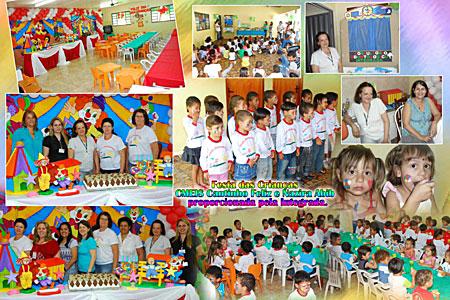 """Integrada de Andirá Comemora """"Dia das Crianças"""" em CMEIS"""